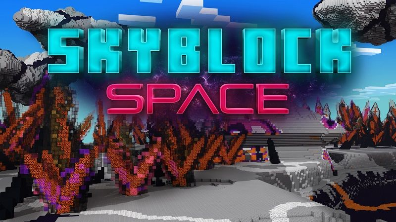 Skyblock Space on the Minecraft Marketplace by Nitric Concepts