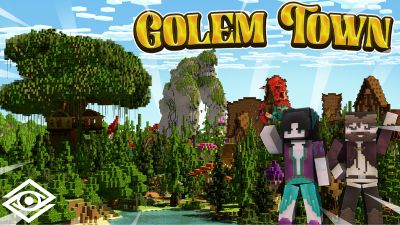 Golem Town on the Minecraft Marketplace by Cynosia