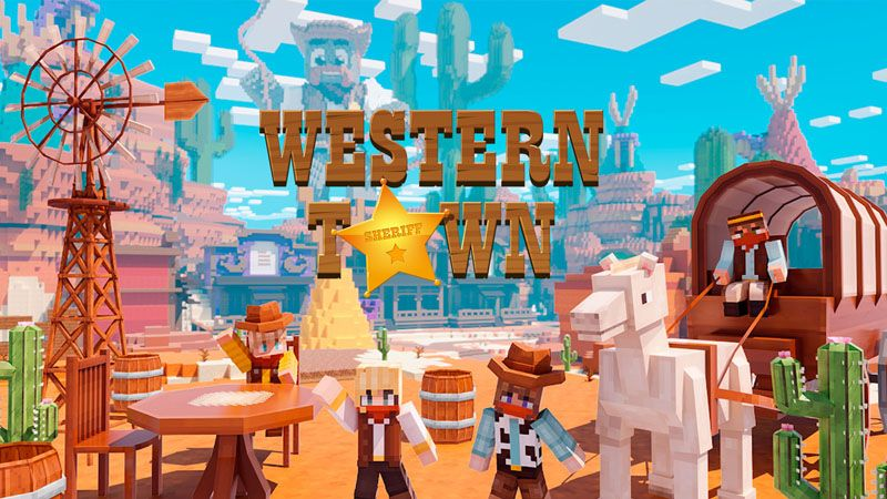 Western Town on the Minecraft Marketplace by Odyssey Builds