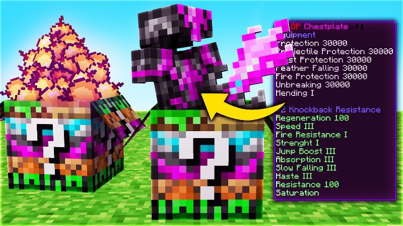 Lucky Block Hacker on the Minecraft Marketplace by Doctor Benx