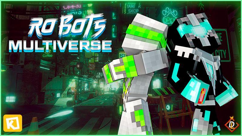 Robots Multiverse on the Minecraft Marketplace by Kuboc Studios