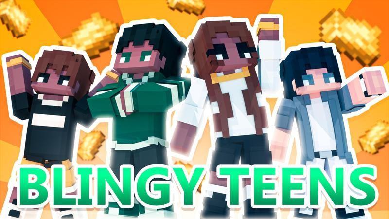 Blingy Teens on the Minecraft Marketplace by 4KS Studios
