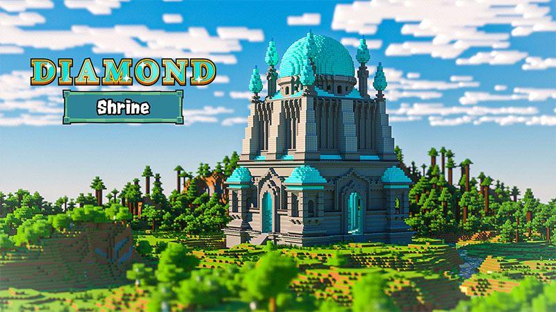 Diamond Shrine on the Minecraft Marketplace by Odyssey Builds