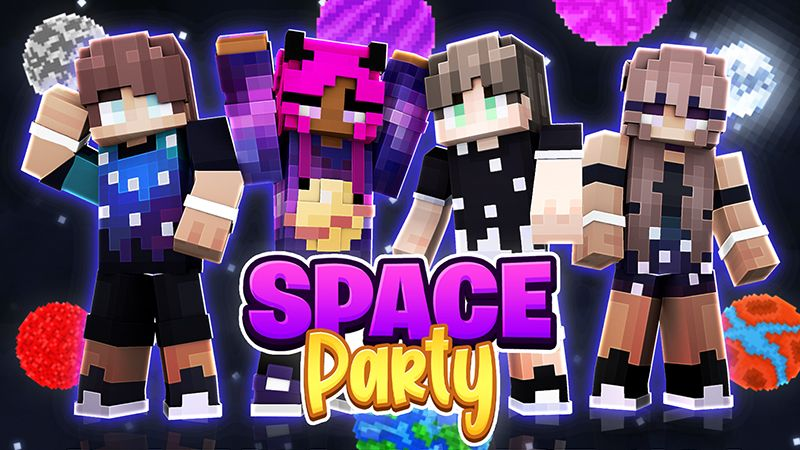 Space Party on the Minecraft Marketplace by Sapphire Studios