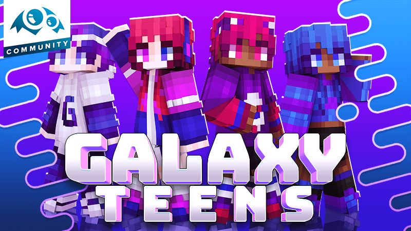 Galaxy Teens on the Minecraft Marketplace by Monster Egg Studios