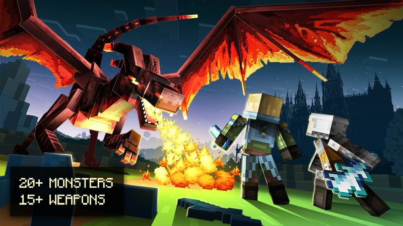MONSTERS on the Minecraft Marketplace by Spark Universe