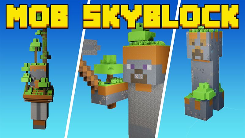Mob Skyblock on the Minecraft Marketplace by Mine-North