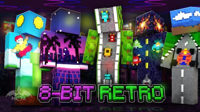 8bit Retro on the Minecraft Marketplace by Dragnoz