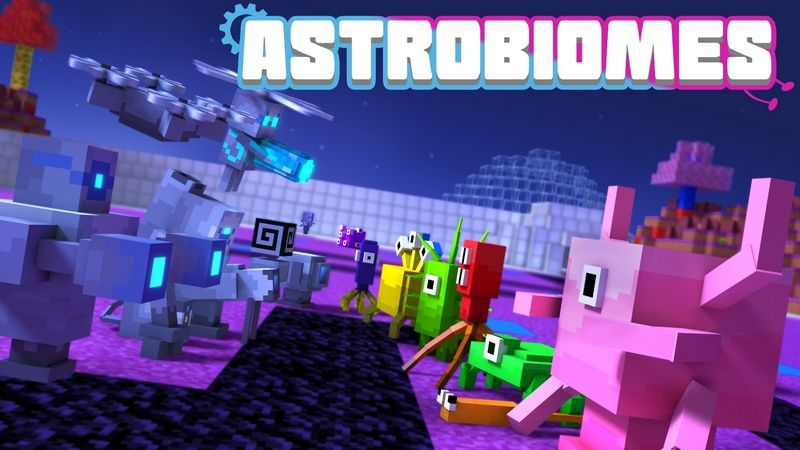 Astrobiomes on the Minecraft Marketplace by MCTexels