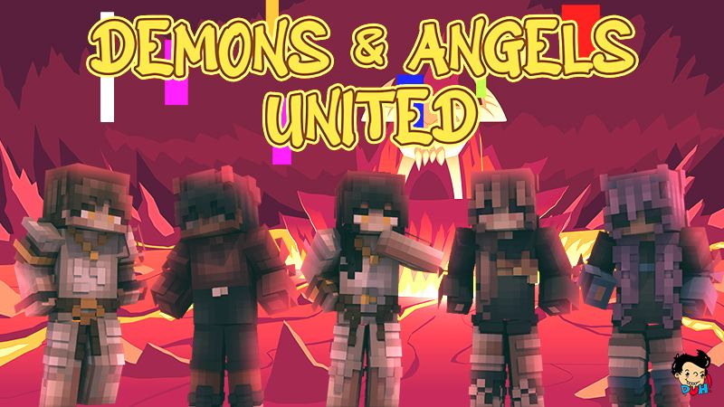Demons and Angels United on the Minecraft Marketplace by Duh