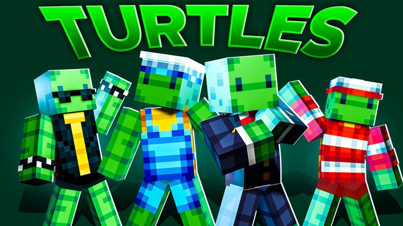 Turtles on the Minecraft Marketplace by Odyssey Builds