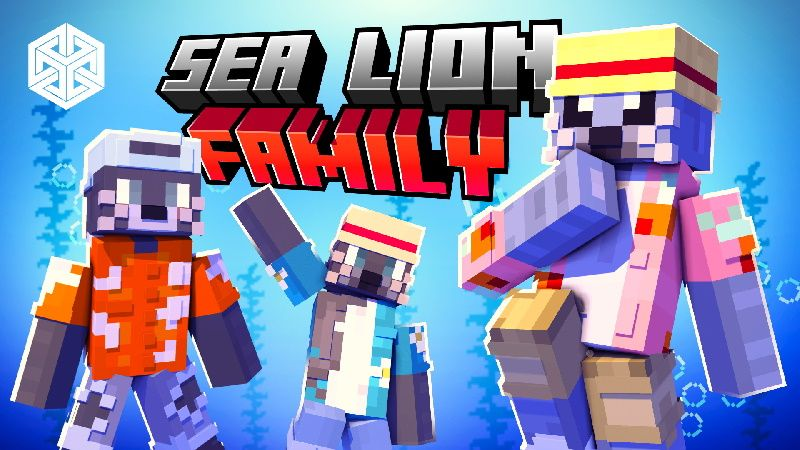 Sea Lion Family on the Minecraft Marketplace by Yeggs