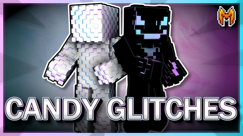 Candy Glitches on the Minecraft Marketplace by Metallurgy Blockworks