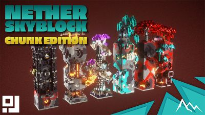 Nether Chunk Skyblock on the Minecraft Marketplace by inPixel