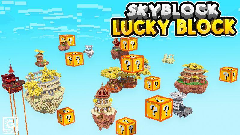 Skyblock Lucky Block on the Minecraft Marketplace by Gearblocks