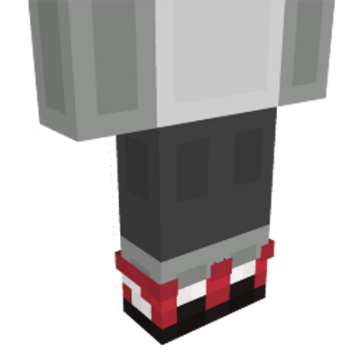 Red Sneakers on the Minecraft Marketplace by Blockception