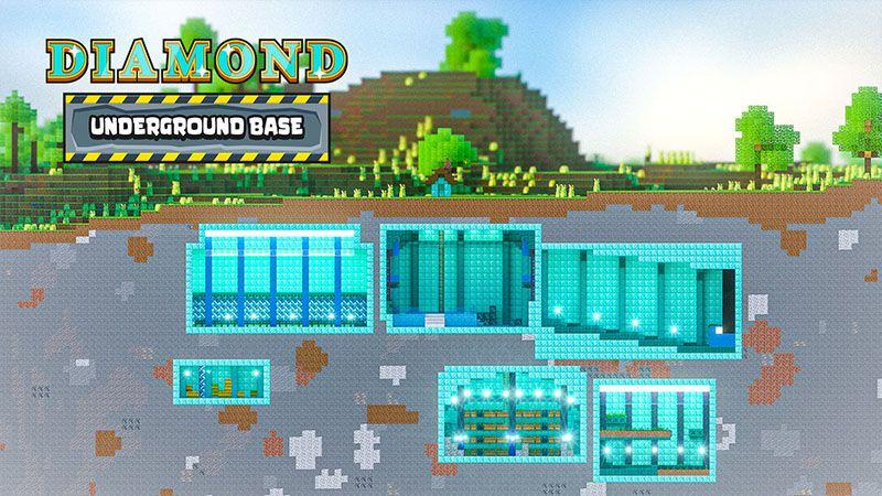 Diamond Underground Base on the Minecraft Marketplace by Odyssey Builds