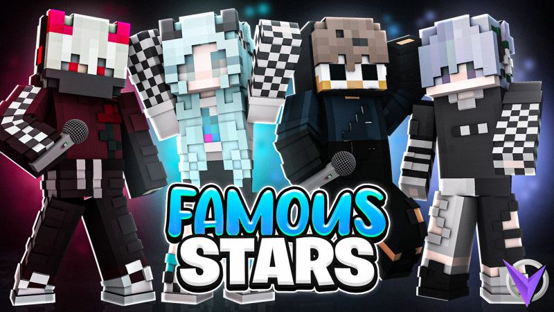 Famous Stars on the Minecraft Marketplace by Team Visionary