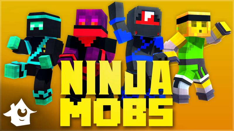 Ninja Mobs on the Minecraft Marketplace by House of How