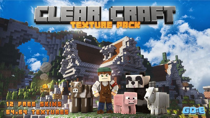 Clear Craft on the Minecraft Marketplace by GoE-Craft