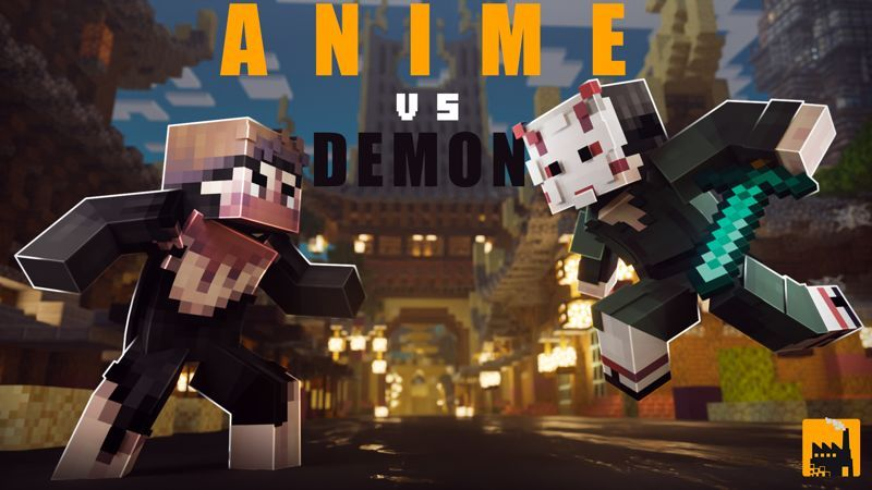 Anime Vs Demon on the Minecraft Marketplace by Block Factory