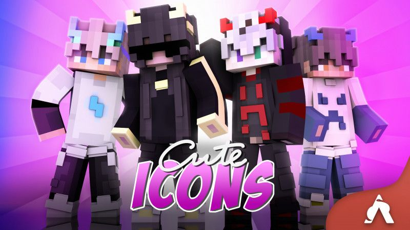 Cute Icons on the Minecraft Marketplace by Atheris Games