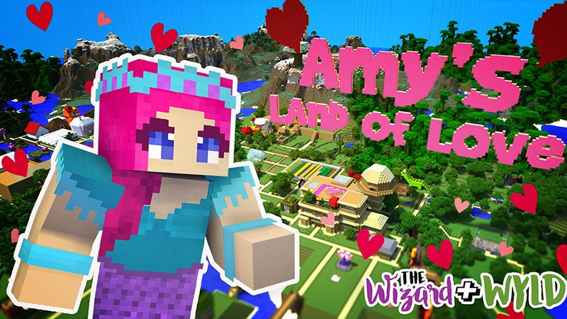 Land of Love on the Minecraft Marketplace by The Wizard and Wyld