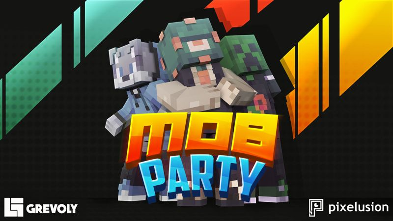 Mob Party on the Minecraft Marketplace by Pixelusion