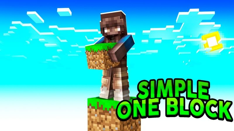 Simple One Block on the Minecraft Marketplace by Fall Studios