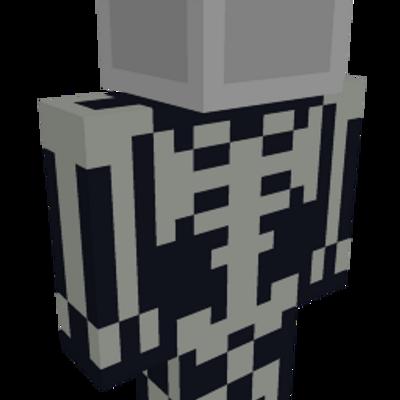 Skeleton Suit on the Minecraft Marketplace by Snail Studios