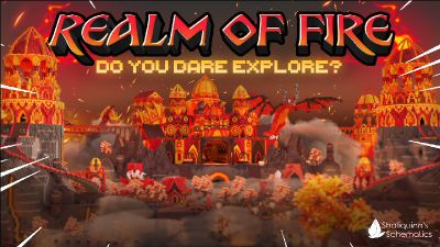 Realm of Fire on the Minecraft Marketplace by Shaliquinn's Schematics