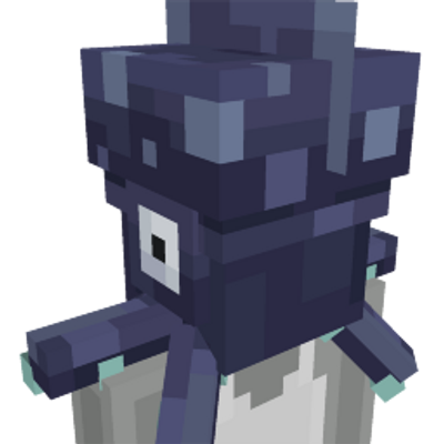 Squid Head on the Minecraft Marketplace by Entity Builds