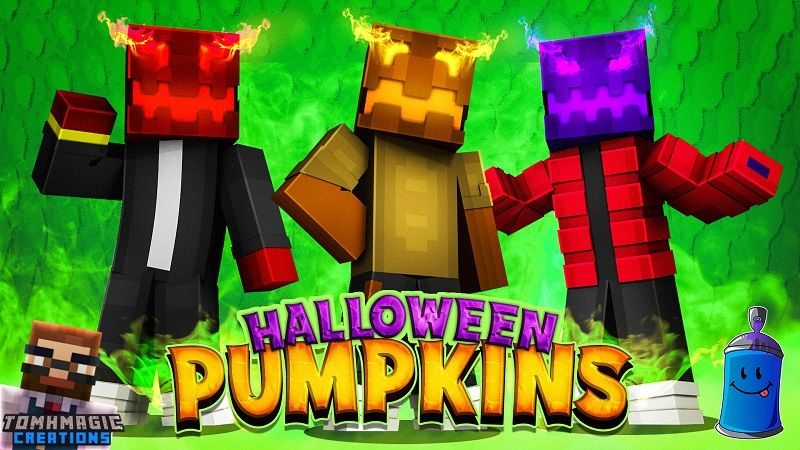 Halloween Pumpkins on the Minecraft Marketplace by Tomhmagic Creations