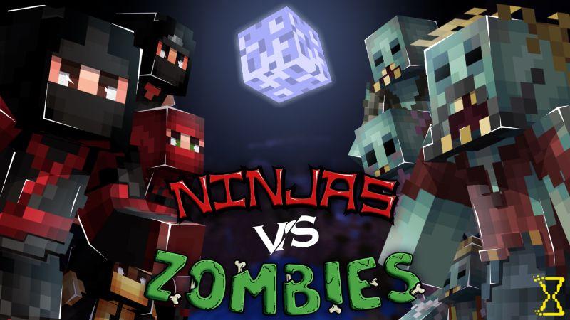 Ninjas vs Zombies on the Minecraft Marketplace by Hourglass Studios