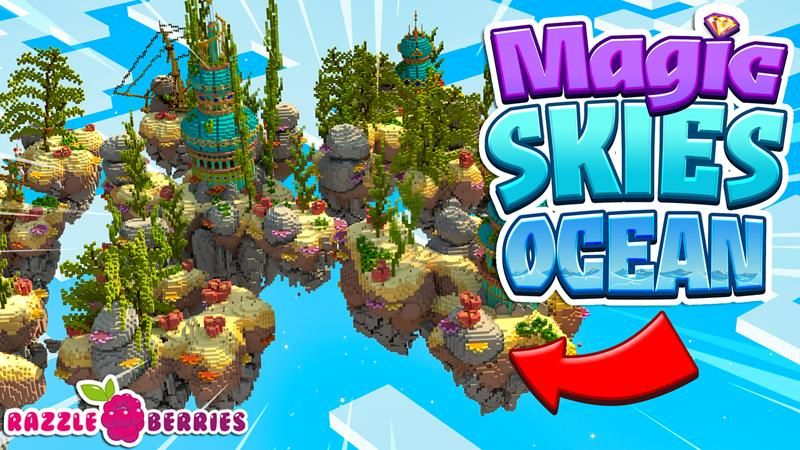 Magic Skies Ocean on the Minecraft Marketplace by Razzleberries