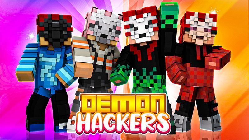 Demon Hackers on the Minecraft Marketplace by Odyssey Builds