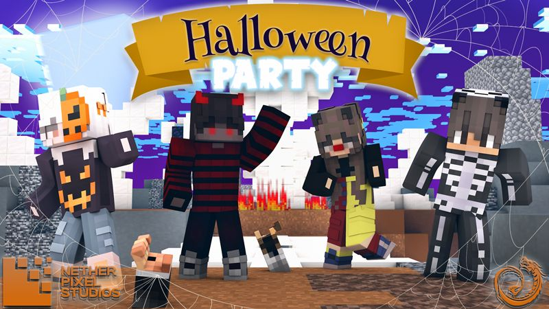 Halloween Party on the Minecraft Marketplace by Netherpixel