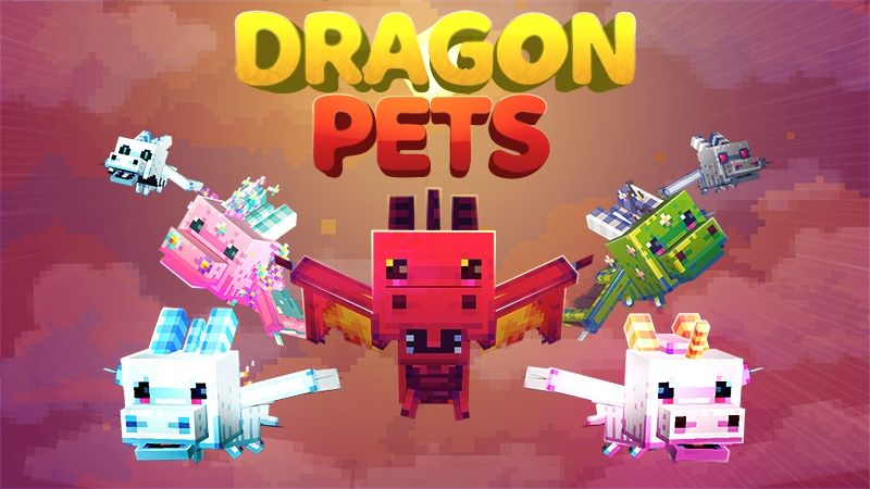 Dragon Pets on the Minecraft Marketplace by Kubo Studios