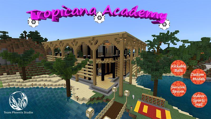 Tropicana Academy on the Minecraft Marketplace by Team Phoenix Studio