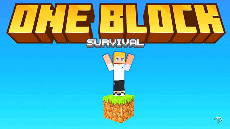 ONE BLOCK SURVIVAL on the Minecraft Marketplace by Pickaxe Studios