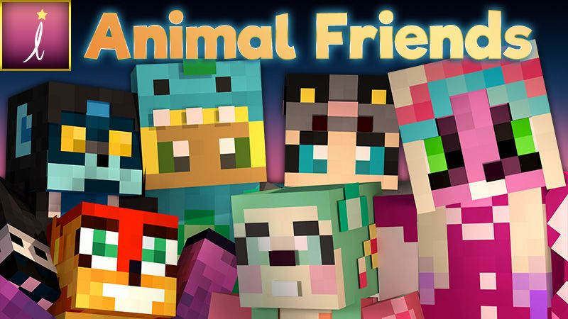 Animal Friends on the Minecraft Marketplace by Imagiverse