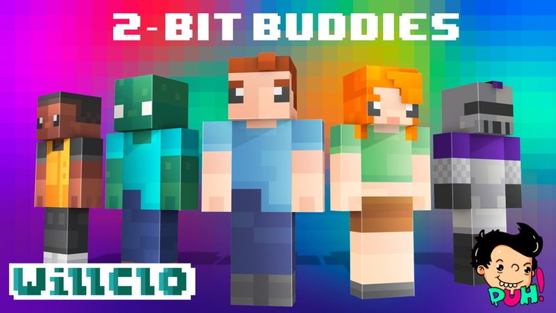 2Bit Buddies on the Minecraft Marketplace by Duh