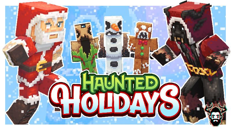 Haunted Holidays on the Minecraft Marketplace by Mike Gaboury