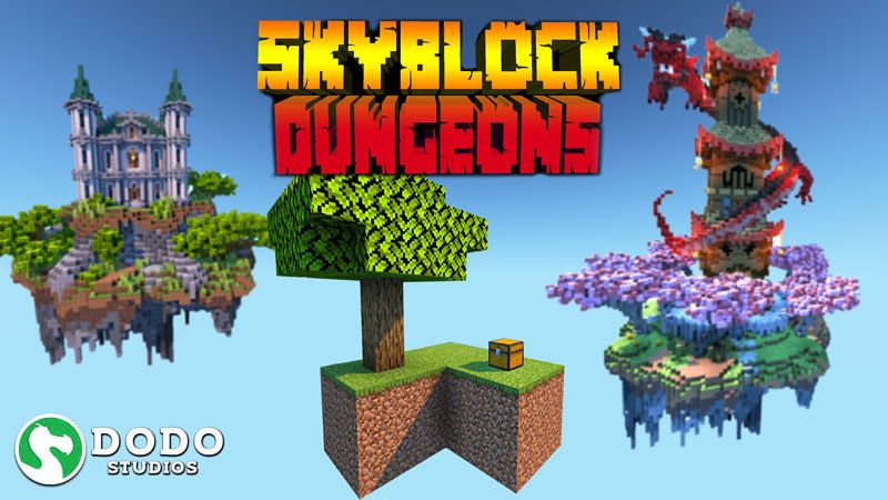 Skyblock Dungeons on the Minecraft Marketplace by Dodo Studios