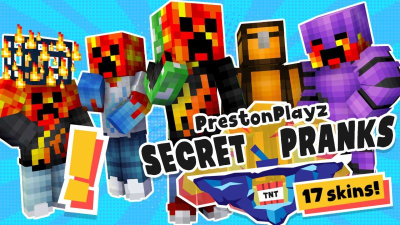 PrestonPlayz Secret Pranks on the Minecraft Marketplace by Meatball Inc
