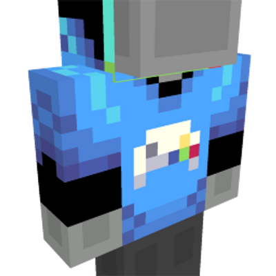 Gamer Hoodie on the Minecraft Marketplace by Builders Horizon
