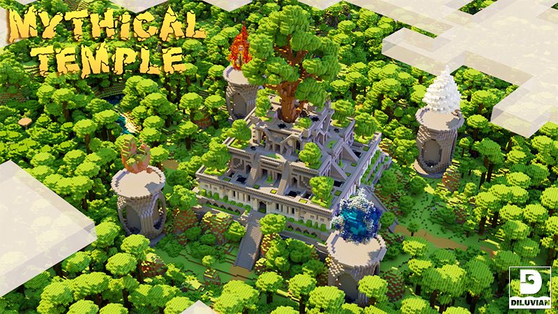 Mythical Temple on the Minecraft Marketplace by Diluvian