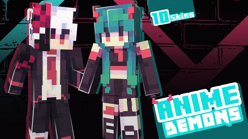 Anime Demons Skin Pack on the Minecraft Marketplace by Ninja Squirrel Gaming