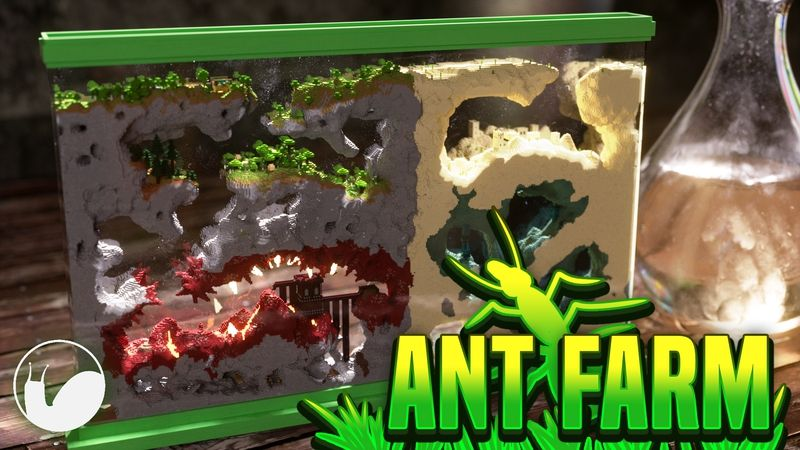 Ant Farm on the Minecraft Marketplace by Snail Studios