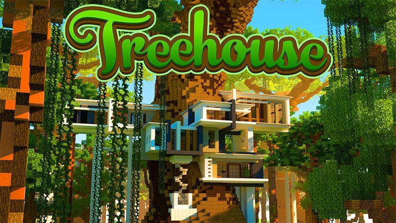 HD Treehouse on the Minecraft Marketplace by Kreatik Studios